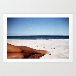 Sea Legs Art Print