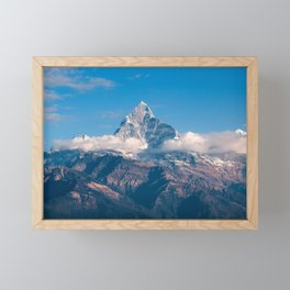 Fishtail Mountain | Mountain Climbing Framed Mini Art Print
