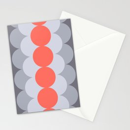 Gradual Living Coral Stationery Cards