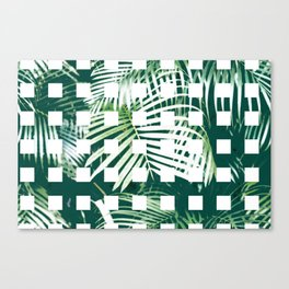 Artificial Garden No. 6 (Indoor palm) Canvas Print