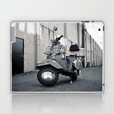 Alleyway Vespa Laptop & iPad Skin