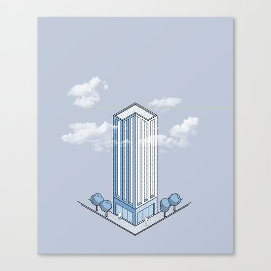 Architecture - You're Doing it Wrong Canvas Print