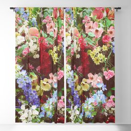 Floral Explosion Blackout Curtain