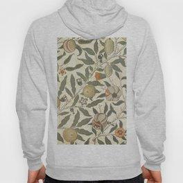 William Morris Fruit Pattern Hoody