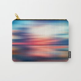 Abstract Sunset VI Carry-All Pouch