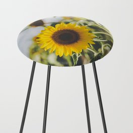 Allora | Sunflowers Counter Stool