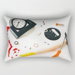 killing time Rectangular Pillow