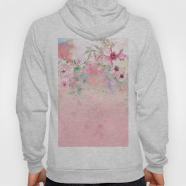 Botanical Fragrances in Blush Cloud-Ιmmersed Hoody