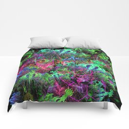 Alien Dragonfly Orchid Colony Comforters