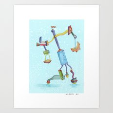 Could'a Been the Teapot Art Print