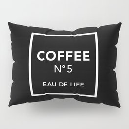 Black Coffee No5 Pillow Sham