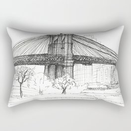BK Bridge  Rectangular Pillow