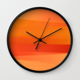Laces of Color II Wall Clock