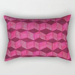 cubic Rectangular Pillow