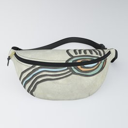 Tribal Maps - Magical Mazes #01 Fanny Pack