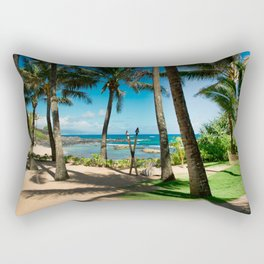 Kuau Beach Paia Maui North Shore Hawaii Rectangular Pillow