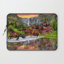 Wells Fargo Stagecoach Laptop Sleeve