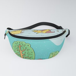 When Cats Fly Fanny Pack