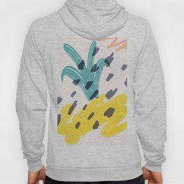 Abstract pineapple Hoody