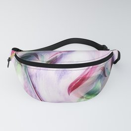 Candy Cane Abstract Fanny Pack