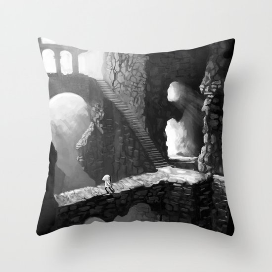 Delve Throw Pillow