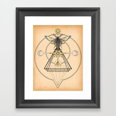 The Mystic Framed Art Print