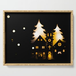 Bright Christmas. Serving Tray