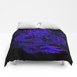 Epic Dragon Blue Comforters