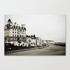 Old sea front Canvas Print