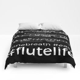 #flutelife #easy (dark colors) Comforters
