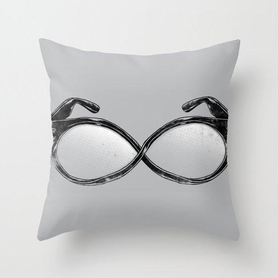 Infi-nerd-ty Throw Pillow