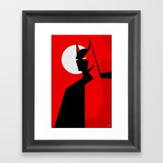 Beware! Framed Art Print