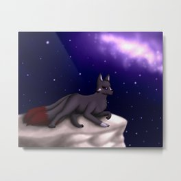 By the Night Sky Metal Print
