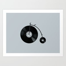 Ride Your Music! Art Print