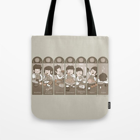 The Seven Daily Meals Tote Bag