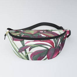 Tropical Leaves Sing Fanny Pack