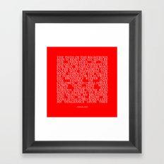 Ezekiel 25 17 Framed Art Print