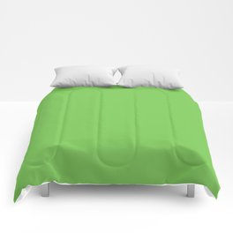 GREEN FLASH PANTONE 15-0146 Comforters