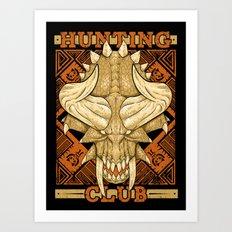 Hunting Club: Diablos Art Print