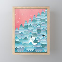 Tree Hugger Framed Mini Art Print