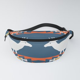 Deer winter pattern Fanny Pack