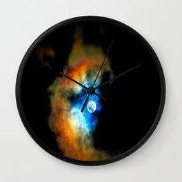 Moon Shadow Wall Clock