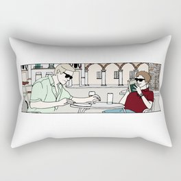 Call Me By Your Name scene Rectangular Pillow