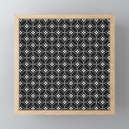 Japanese Flowers Framed Mini Art Print