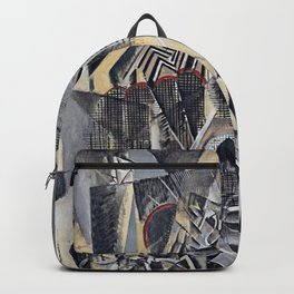 max weber grand central terminal station Backpack