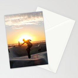 Sunset Skate Stationery Cards