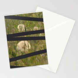 dandelion deliberate Stationery Cards