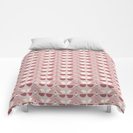 Pink Fall Ethnic #society6 #ethnic Comforters