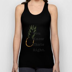 You Know Thats Right Unisex Tank Top