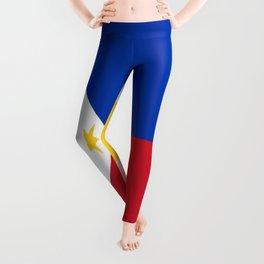 Flag of Philippines -Pilipinas,Filipinas,filipino,pinoy,pinay,Manila,Quezon Leggings